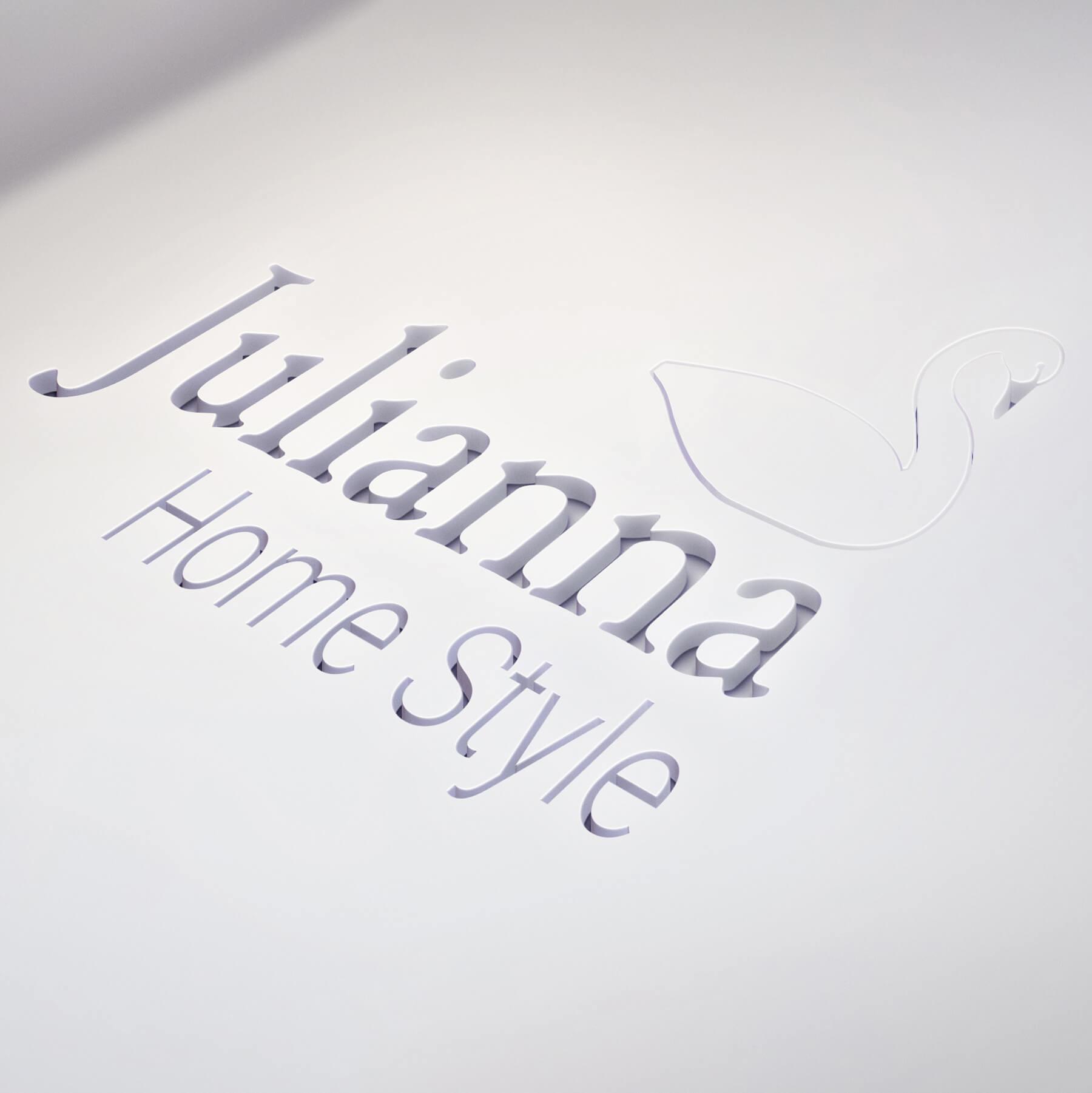 Julianna kivágott logó