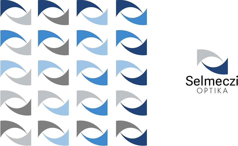 optikia logó színváltozatok