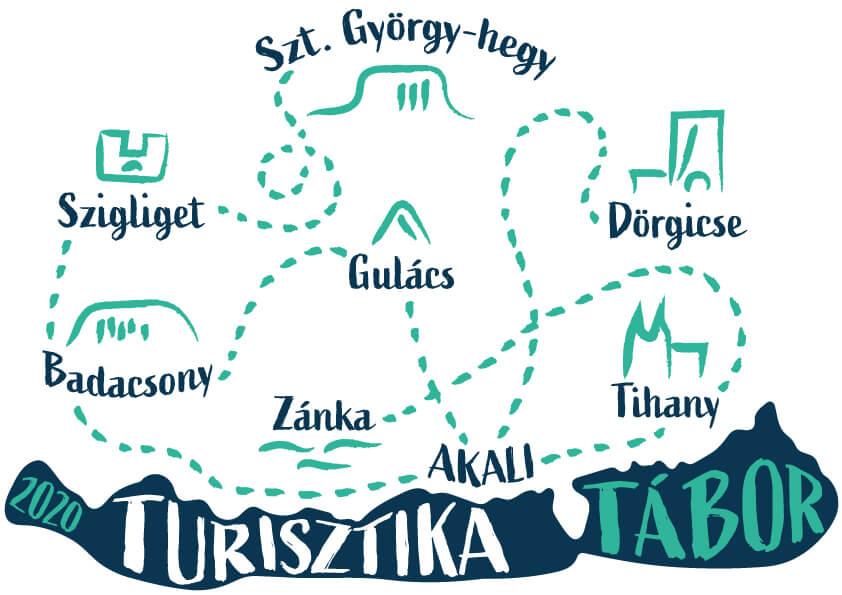 Turisztika Tábor pólómintája