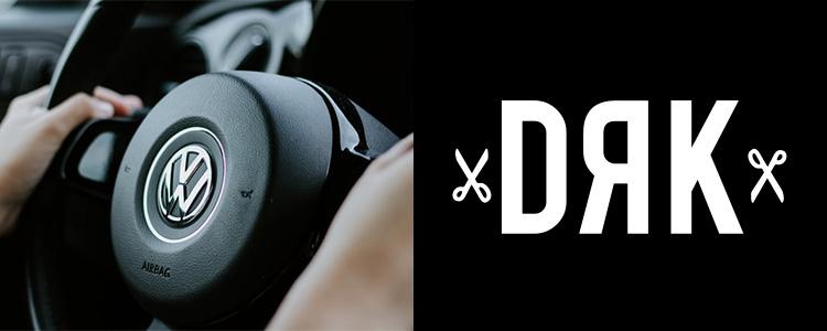 Volkswagen kormánya és Dorko logó